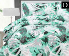 Belmondo Home Congo Double Bed Quilt Cover Set - Green 1