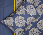 Belmondo Home Cumbria Queen Bed Quilt Cover Set - Blue 5