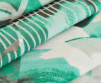Belmondo Home Congo King Bed Quilt Cover Set - Green 4