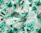 Belmondo Home Congo Single Bed Quilt Cover Set - Green 5