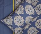 Belmondo Home Cumbria King Bed Quilt Cover Set - Blue 5