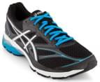 ASICS Men's GEL-Pulse 8 Running Shoe - Black/Silver/Blue Jewel 2