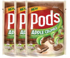 3 x Pods Apple Crumble160g 1