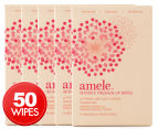 5 x Ansell Amele Intimate Freshen-Up Wipes 10-Pack 1