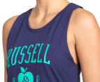 Russell Athletic Women's Campus Muscle Tank - Midnight Blue 6