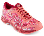 ASICS Women's Gel-Noosa Tri 11 Running Shoes - Guava/Cerise/Pink Glow 2