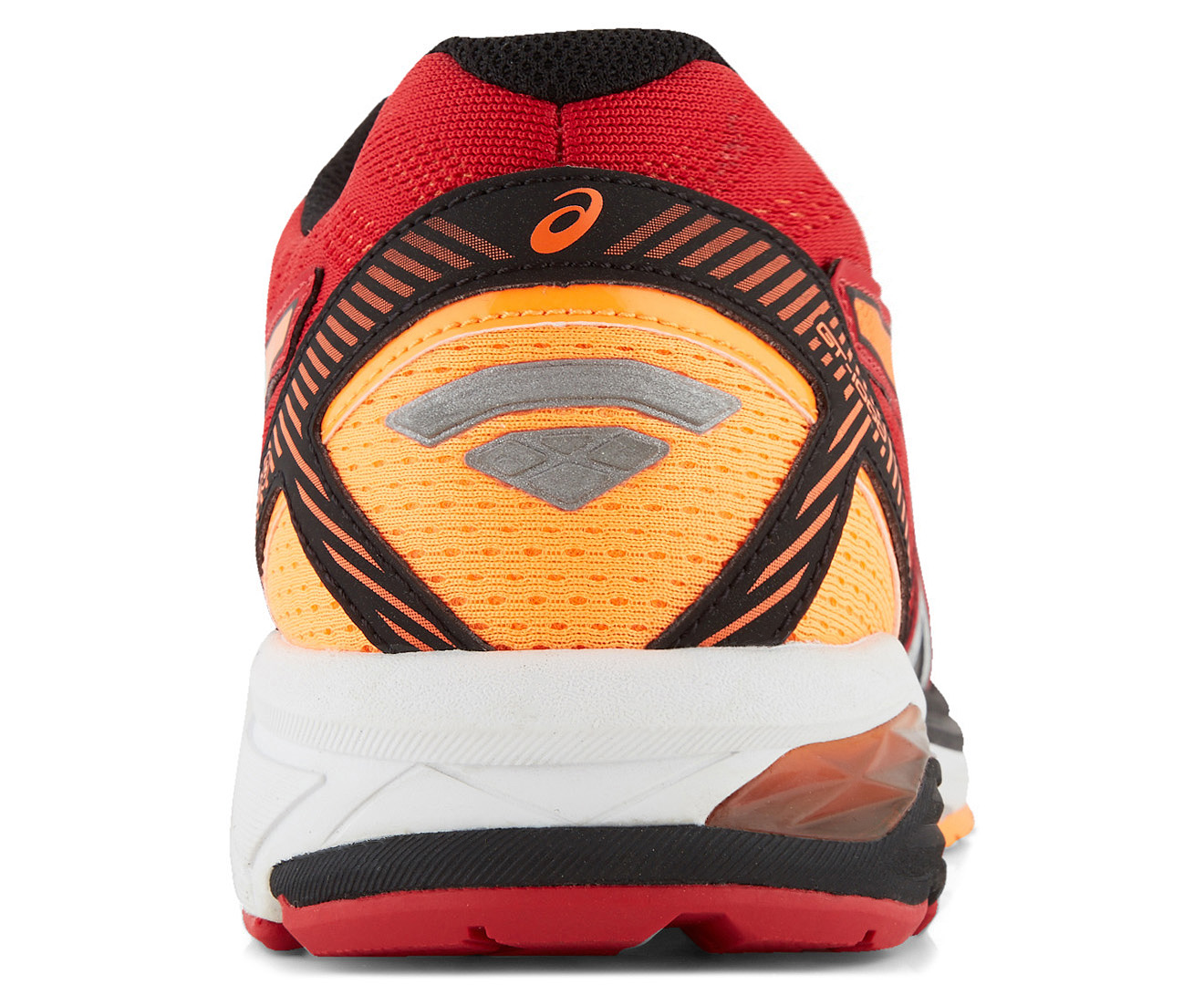 56f2692dac8f ASICS Men s GT-1000 5 Running Shoe - True Red Silver Hot Orange ...