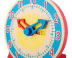 Melissa & Doug Turn & Tell Wooden Clock 4