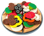 Melissa & Doug Felt Food 40 Piece Pizza Set 5