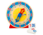 Melissa & Doug Turn & Tell Wooden Clock 6