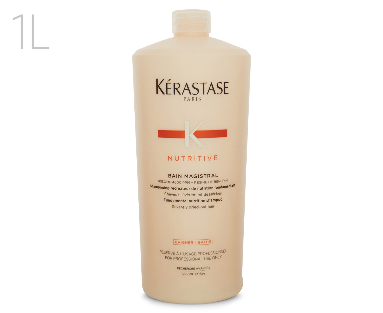 K rastase bain magistral shampoo 1l for Kerastase bain miroir shine revealing shampoo