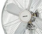 Heller 30cm Metal Desk Fan - Chrome 5