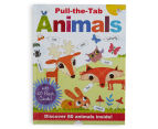 Pull-The-Tab Animals Book 1