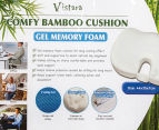 Vistara Gel Memory Foam Bamboo Cushion 2