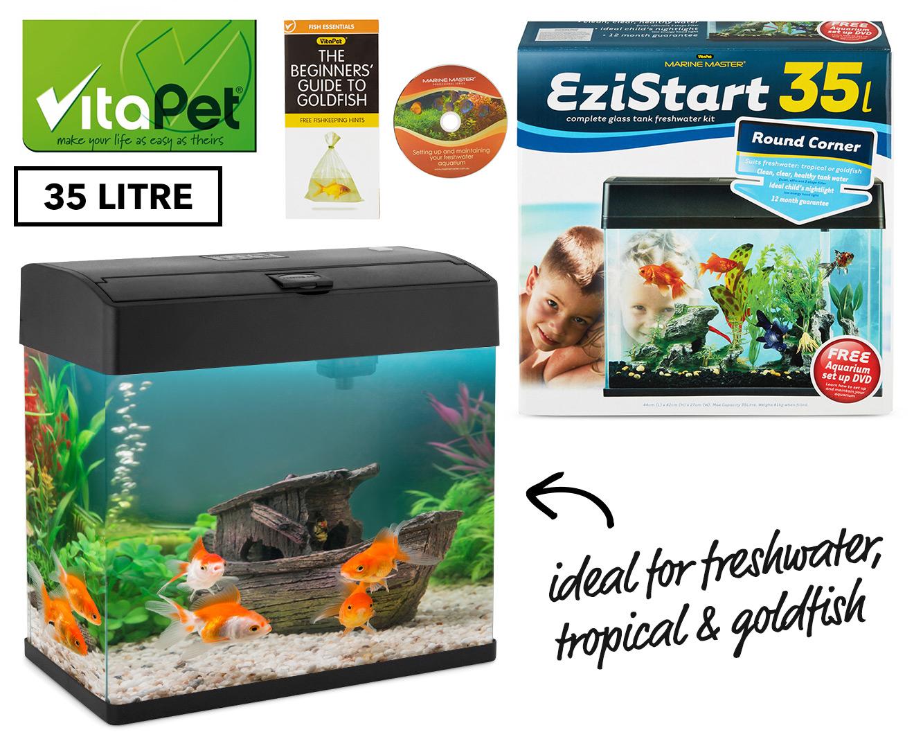 Vitapet ezistart 35l complete glass freshwater fish tank for Fish tank deals