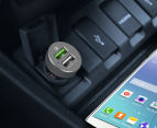 mbeat Quickboost S Certified QC 2.0 & Smart USB Car Charger 5