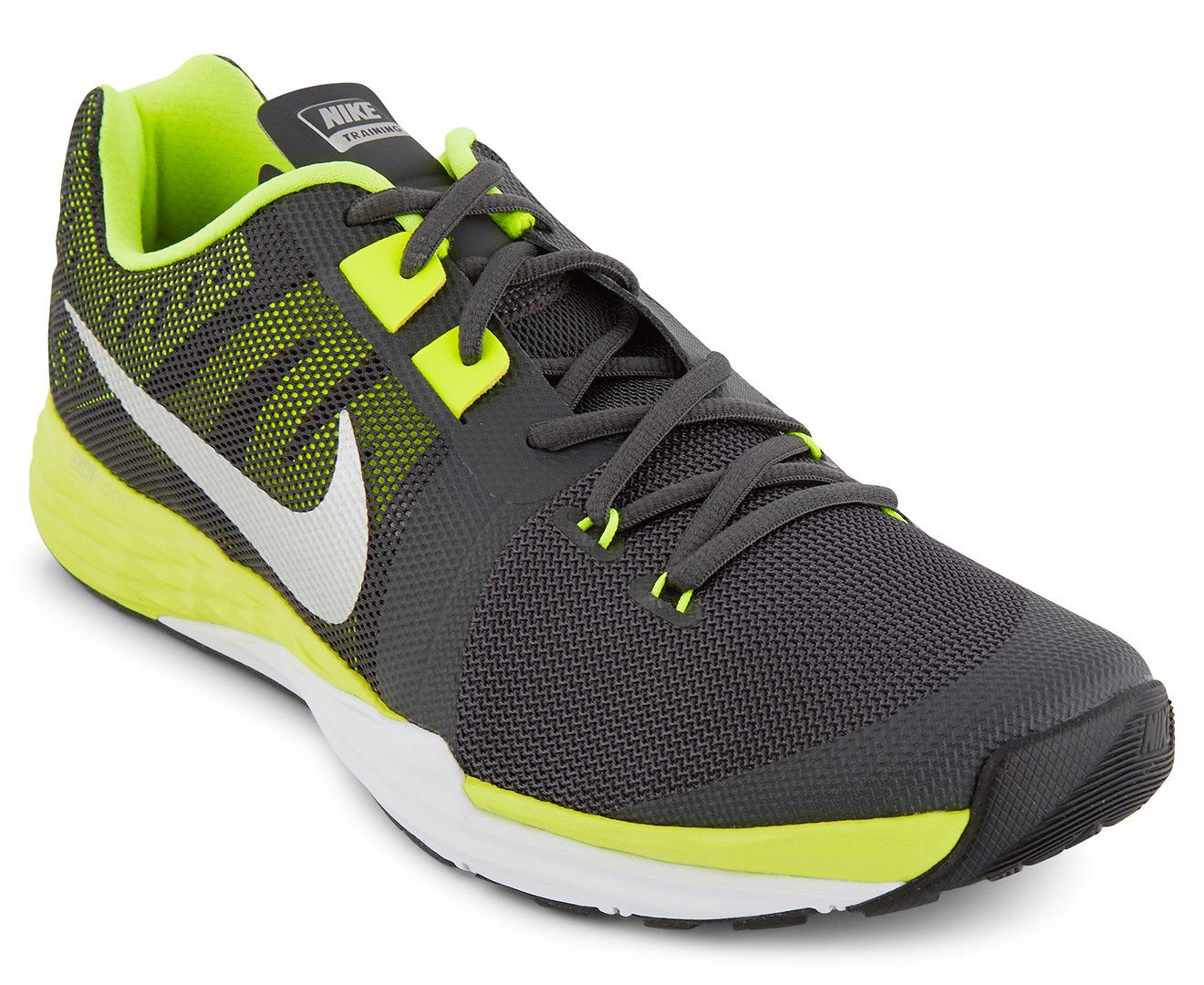 Nike Men S Train Prime Iron Df Training Shoes Black Green