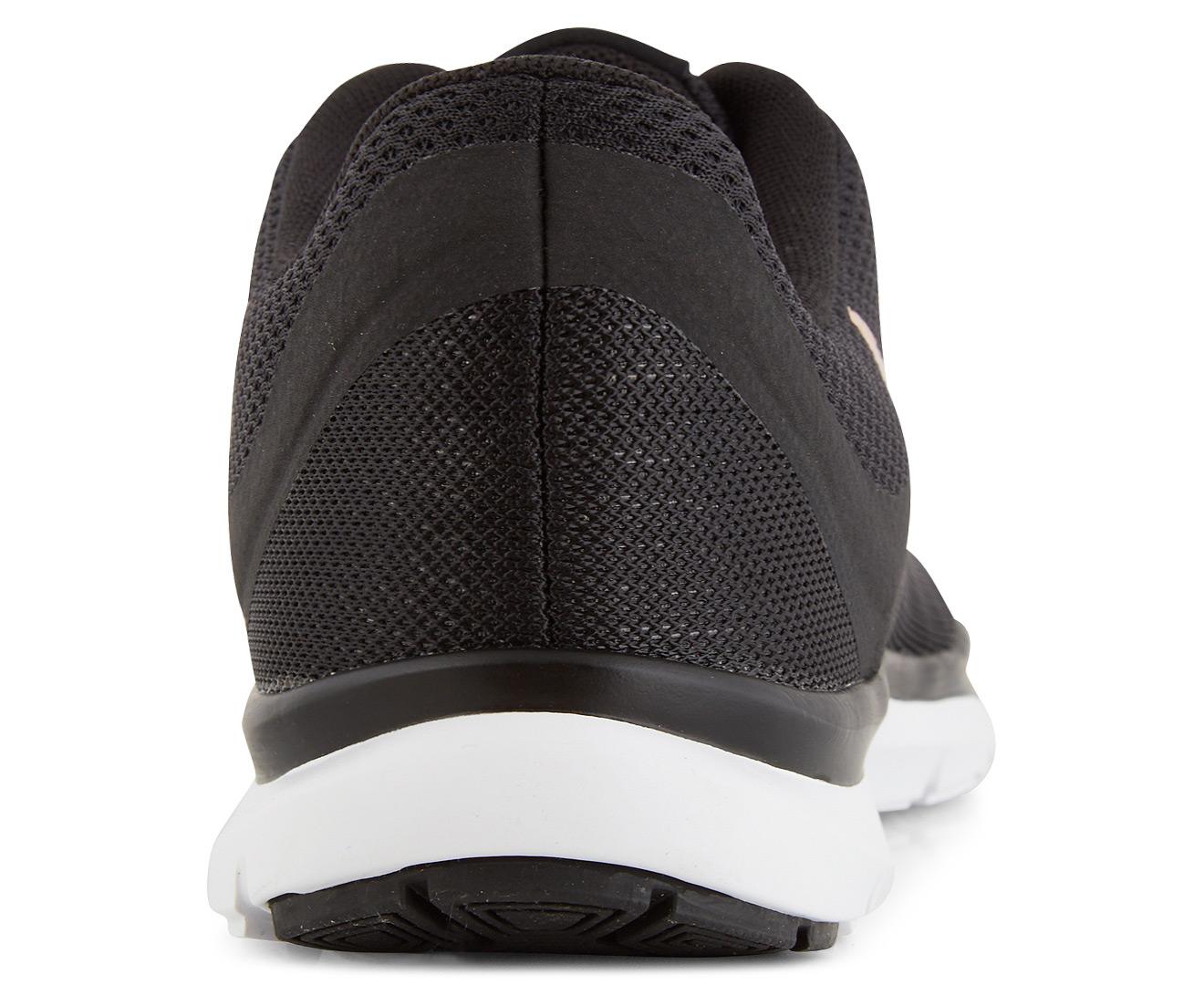 6016932807722 Nike Women s Flex Trainer 6 Running Shoe - Black Bronze Red White ...