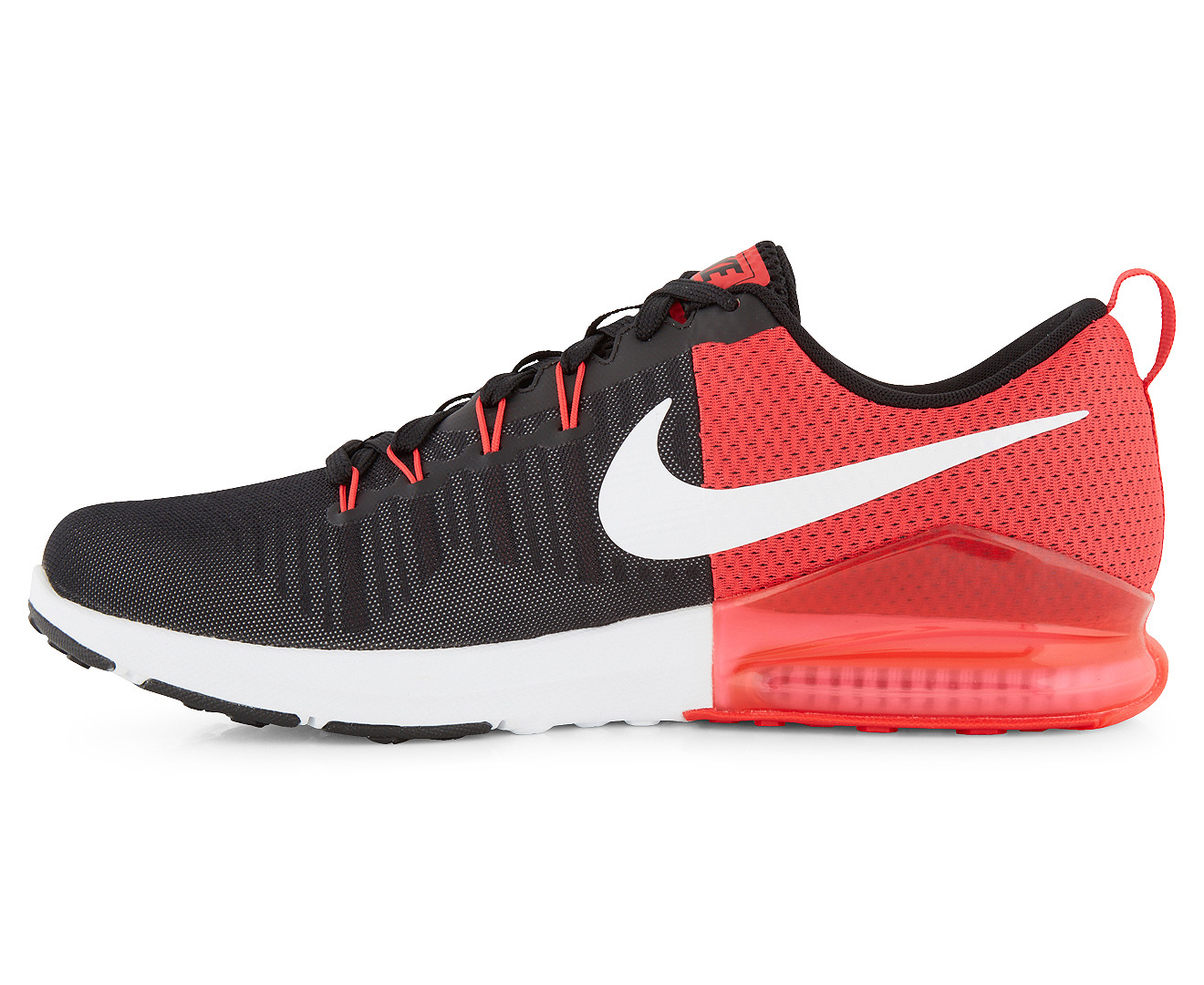 Nike Performance ZOOM TRAIN ACTION - Sports shoes - black/white/wolf grey/action red vSZ1cxo