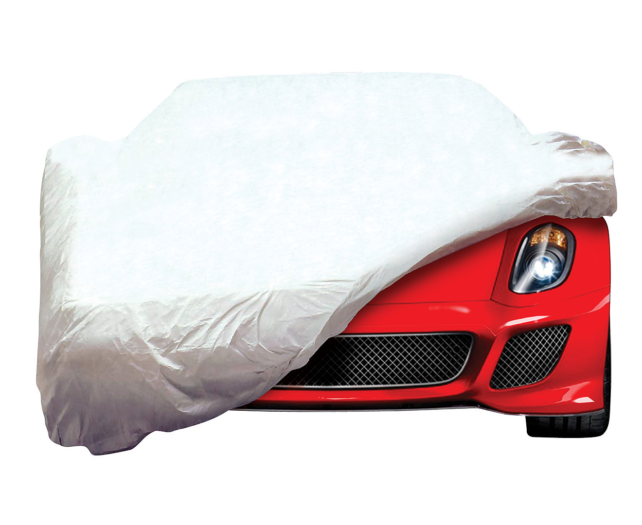 White Tyvek Car Cover