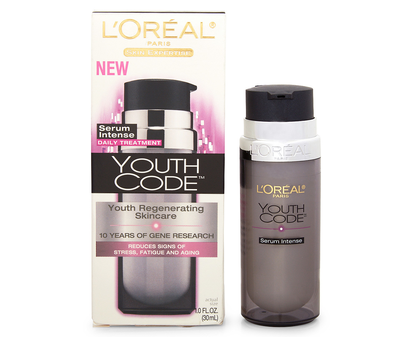 l 39 or al youth code youth regenerating intense serum 30ml great daily deals at australia 39 s. Black Bedroom Furniture Sets. Home Design Ideas