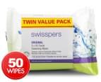 Swisspers Original Cleansing 50 Wipes 1