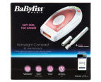 BaByliss Paris Homelight Compact IPL Hair Removal - White/Pink 6