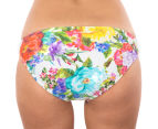 Billabong Women's Gardenia Lowrider Bikini Bottom - White 4