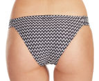 Billabong Women's Buzz Kill Tropic Bikini Bottom - Black 4