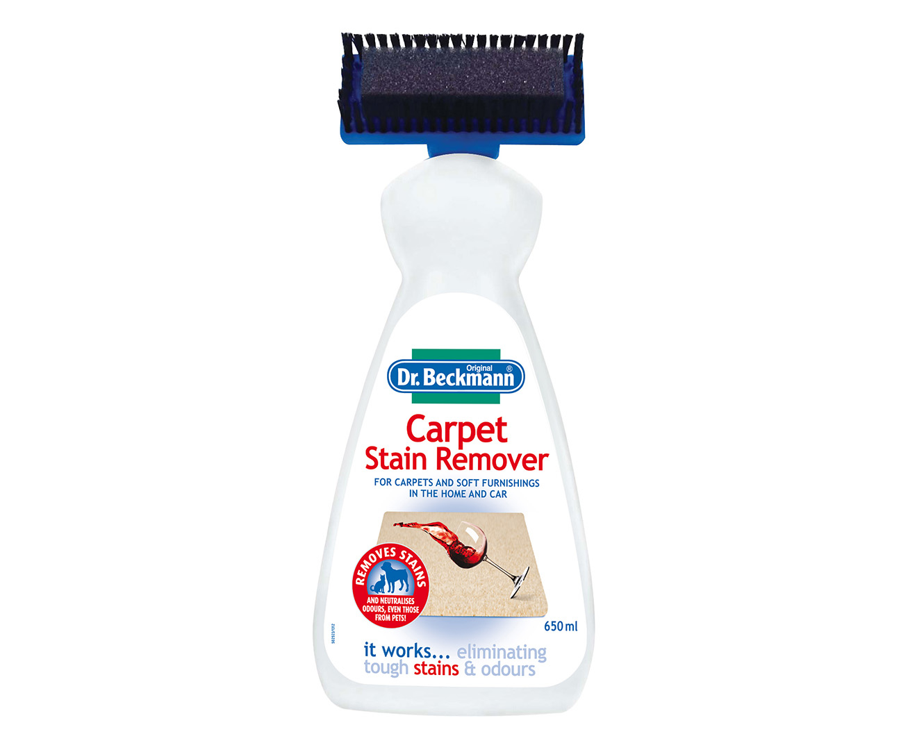 dr beckmann 39 s carpet stain remover 650ml. Black Bedroom Furniture Sets. Home Design Ideas