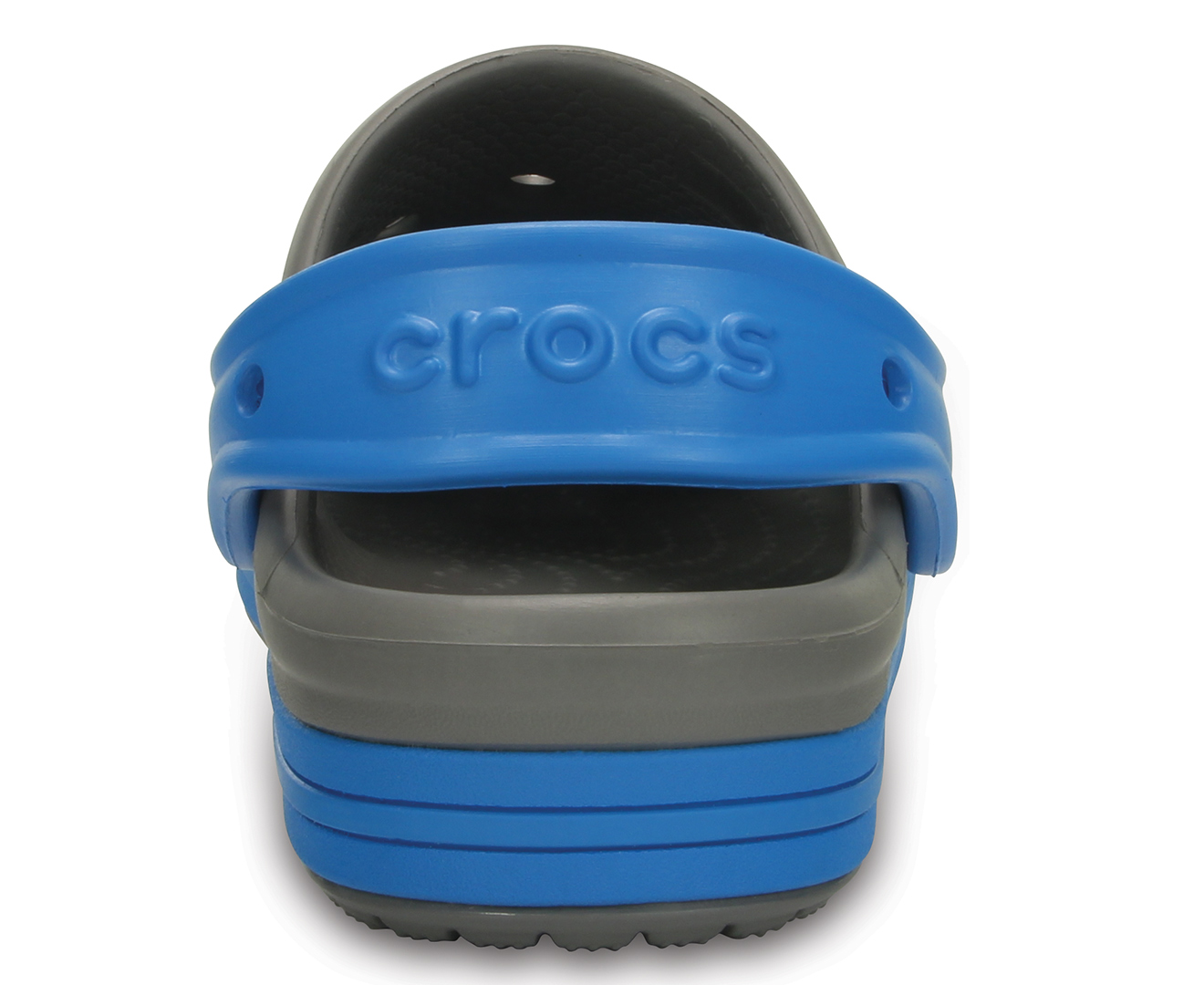 39980acba Crocs Kids  Bump It Clog - Smoke Ocean