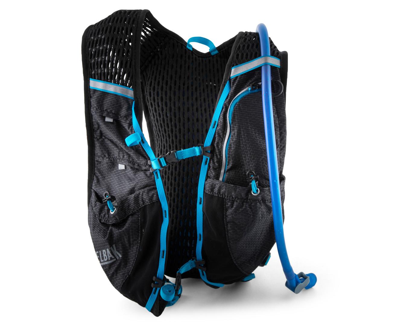 9dfbe10d5f CamelBak Circuit Vest 1.5L Hydration Pack - Black/Atomic Blue | Catch.com.au