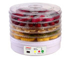 Kitchen Couture Digital Food Dehydrator - White 1