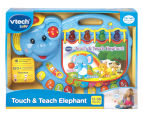 VTech Touch & Teach Elephant Baby/Infant Activity/Toy with Playful Music and Light-up Buttons 1