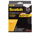 3M Scotch 15Ft Outdoor Fastener - Black 1