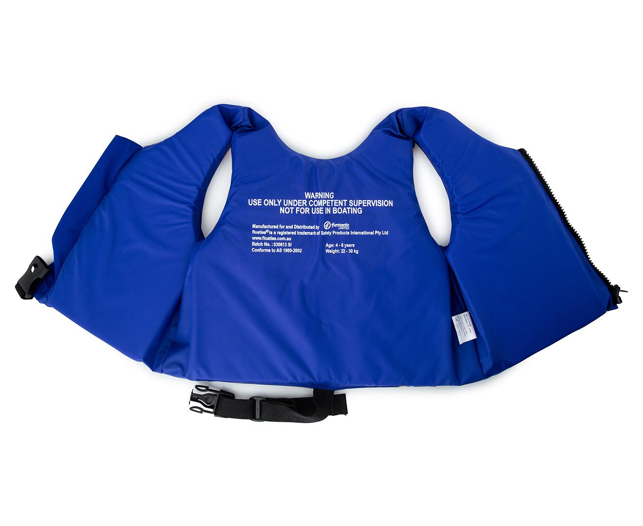 Floaties Kids Rocket Swim Vest Blue Catch Com Au