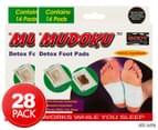 2 x Mudoku Detox Foot Pads 14pk 1