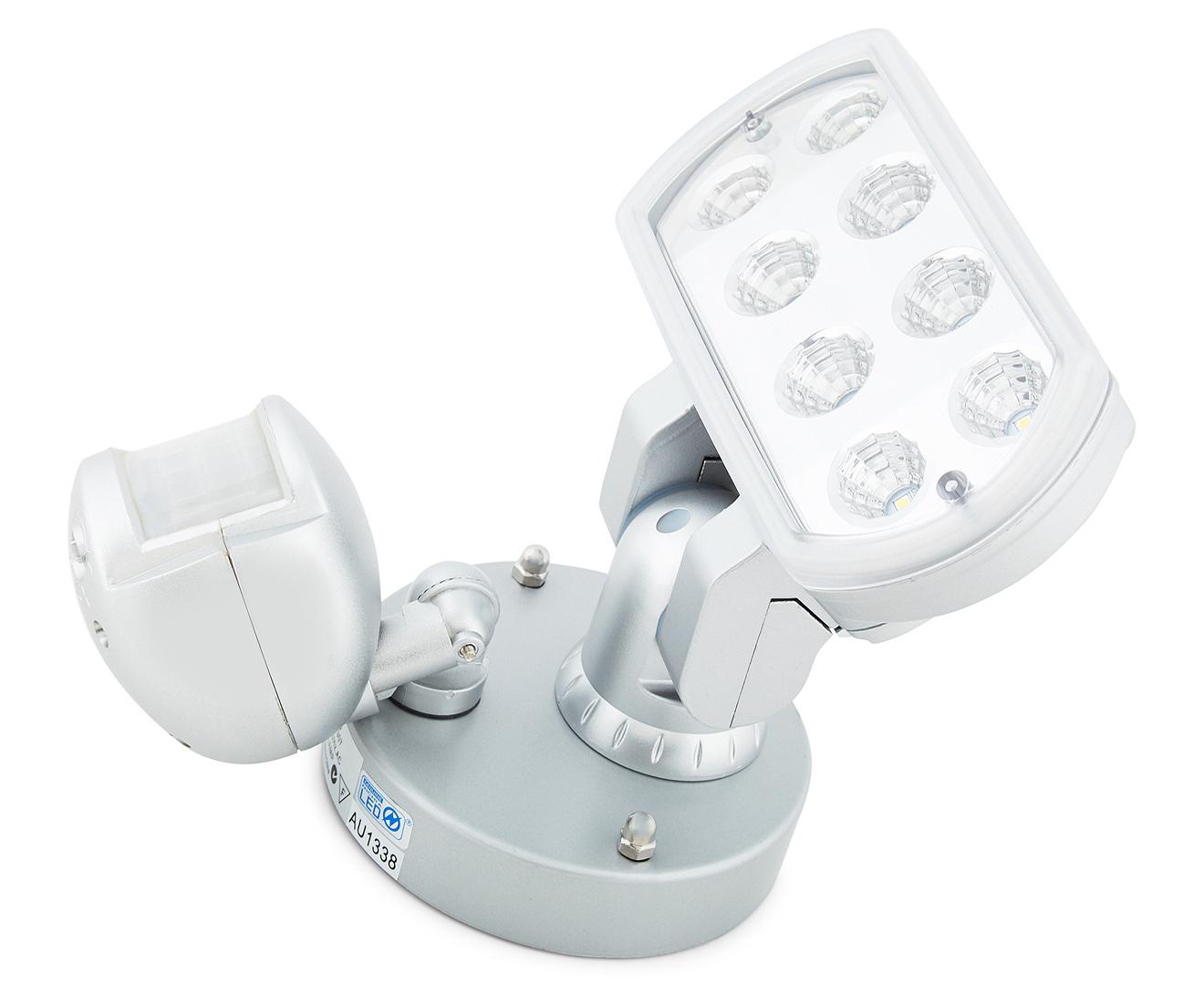 Brilliant Lighting Leopard LED Floodlight w/ Sensor ...