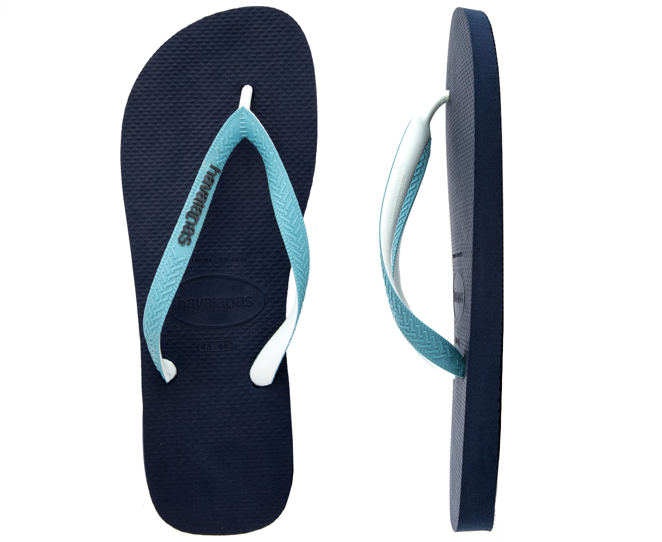 eaadc7a05 Havaianas Top Mix Thongs - Navy Blue Mineral