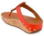 FitFlop Women's Ibiza Cork Shoe - Flame 4