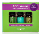 ECO.Aroma Fight The Flu Pure Essential Oil 3-Pack - 10mL 1