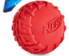 NERF Dog Medium Tyre Squeaker - Red 2