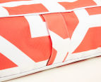 Gracious Living Outdoor Inflatable Air Ottoman Square - Tangerine 4
