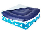 Gracious Living Outdoor Inflatable Air Ottoman Square - Jade 5