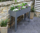Greenlife 1000x300mm Raised Garden Planter - Slate Grey 1