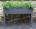 Greenlife 1000x300mm Raised Garden Planter - Slate Grey 2