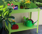 Greenlife 1000x550mm Potting Bench - Fresh Lime 2