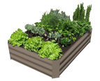 Greenlife 1200x900mm Raised Garden Bed - Stone Brown 3