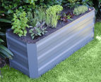 Greenlife 1200x450mm Slimline Raised Garden Bed - Slate Grey 2