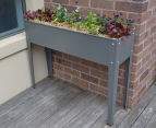 Greenlife 1000x300mm Raised Garden Planter - Slate Grey 3